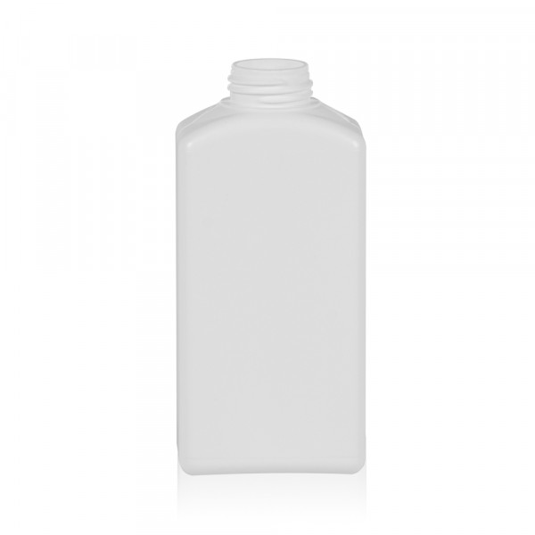 250 ml flacon Standard Square HDPE blanc 28.410