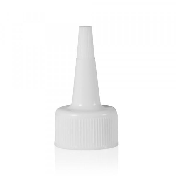 Bouchon pointu blanc 24.410