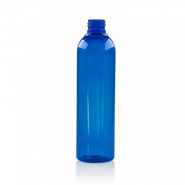 250 ml flacon Basic Round PET bleu 24.410