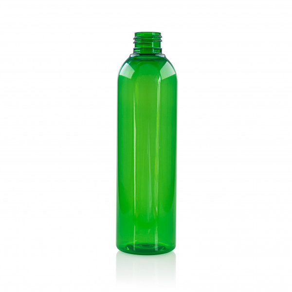 250 ml flacon Basic Round PET vert 24.410