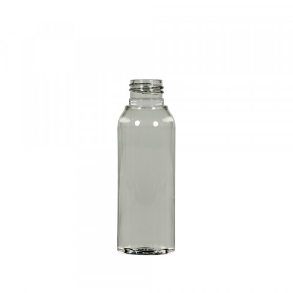 100 ml flacon recyclage Basic Round PET transparent 24.410