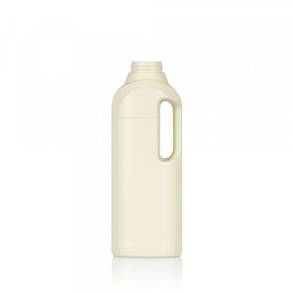 1000 ml flacon Multi Recyclage HDPE Ivory 567