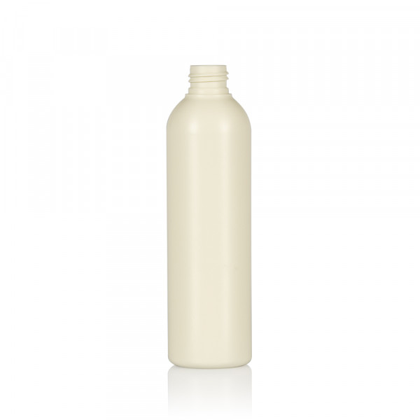 250 ml flacon Basic Round Recycle HDPE Ivory 24.410