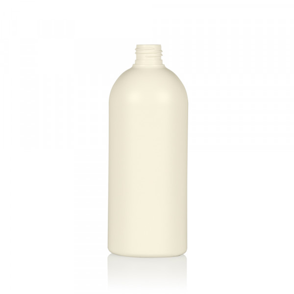 500 ml flacon Basic Round Recycle HDPE Ivory 24.410