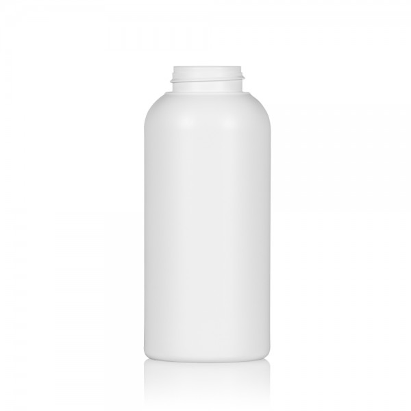 500 ml flacon Compact round HDPE blanc 567