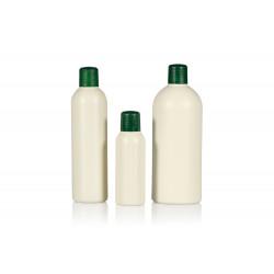Flacons Basic Round de 100% plastique HDPE recyclé