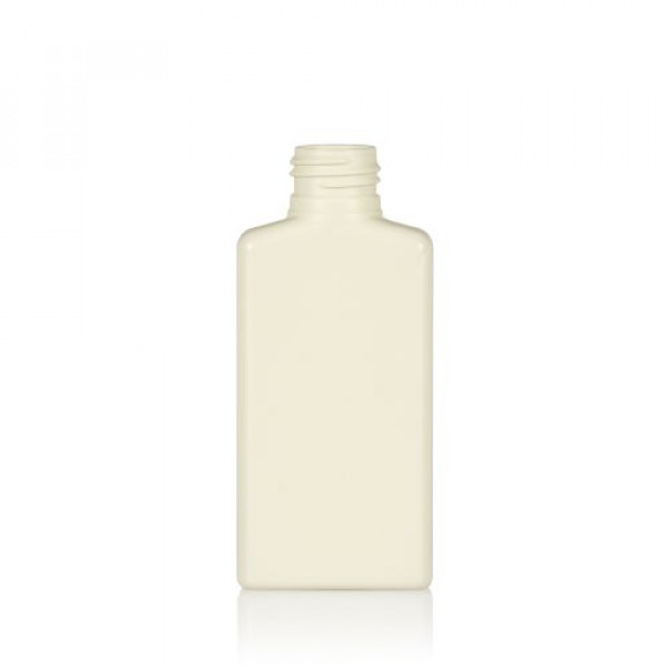 100 ml flacon Mailbox Rectangle recyclage HDPE ivory 24.410