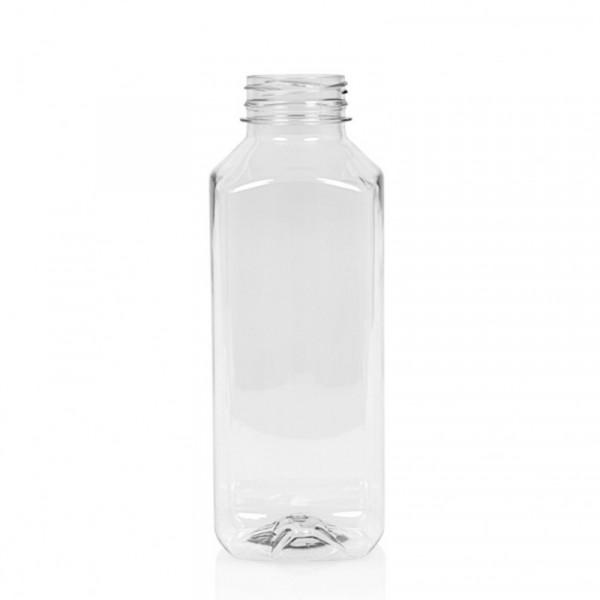 1000 ml flacon de jus Juice Square PET transparent
