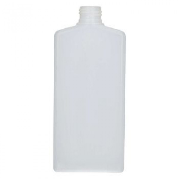 250 ml flacon Mailbox Rectangle HDPE naturel 24.410