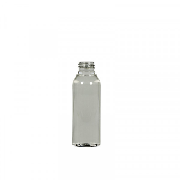 50 ml flacon Basic Round Recyclage PET transparent 24.410