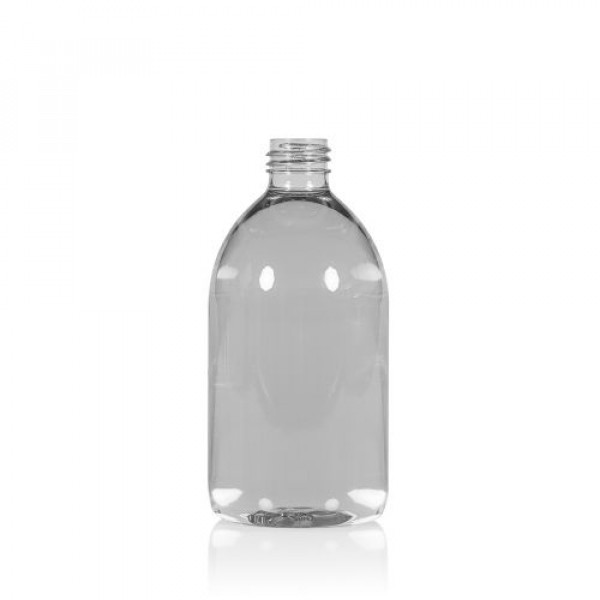 500 ml flacon Soap recyclage PET transparent 28.410