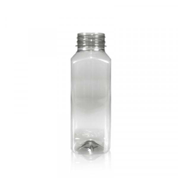 330 ml flacon de jus recyclage R-PET transparent