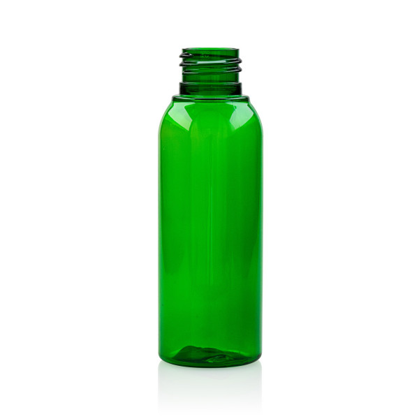 100 ml flacon Basic Round PET vert 24.410