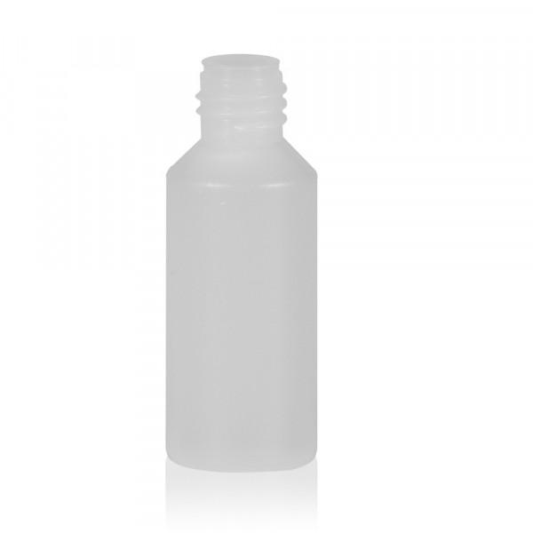 10 ml flacon Mini Round HDPE-LDPE naturel