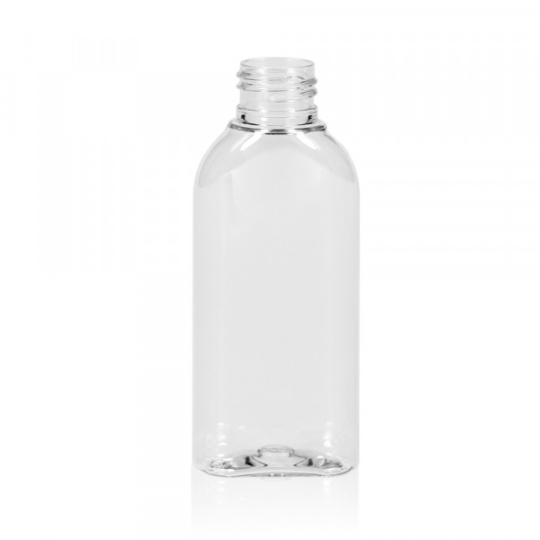 100 ml flacon Basic Oval PET transparent 24.410