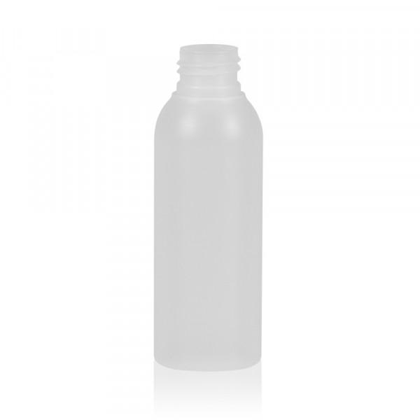 100 ml flacon Basic Round HDPE naturel 24.410