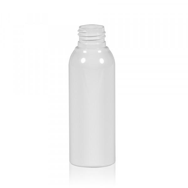 100 ml flacon Basic Round PET blanc 24.410