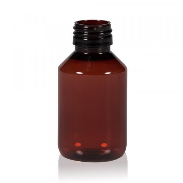 100 ml flacon Pharma PET marron 28.410