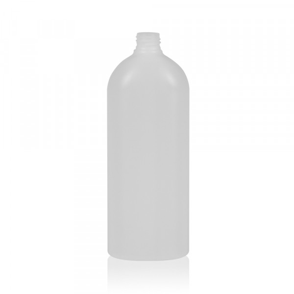 1000 ml flacon Basic Oval HDPE blanc 28.410