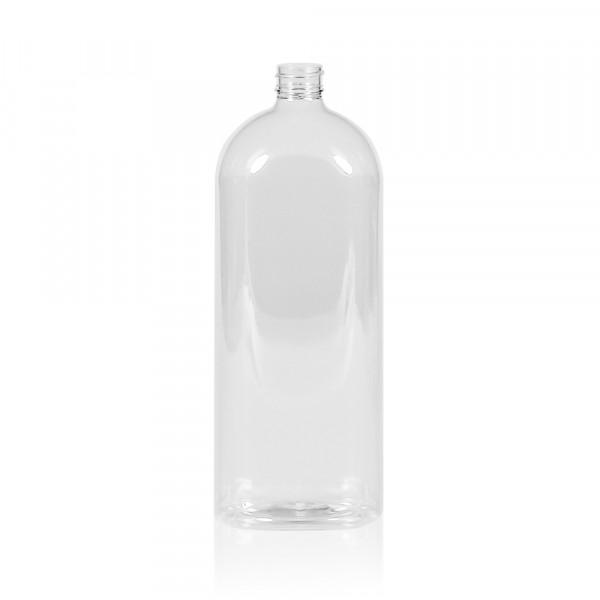 1000 ml flacon Basic Oval PET transparent 28.410