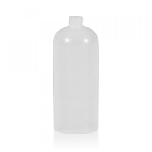 1000 ml flacon Basic Round HDPE naturel 28.410