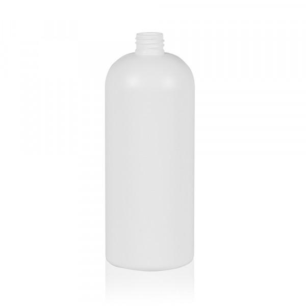 1000 ml flacon Basic Round HDPE blanc 28.410