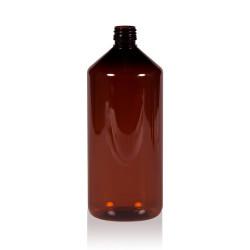1000 ml flacon Pharma PET marron 28.410