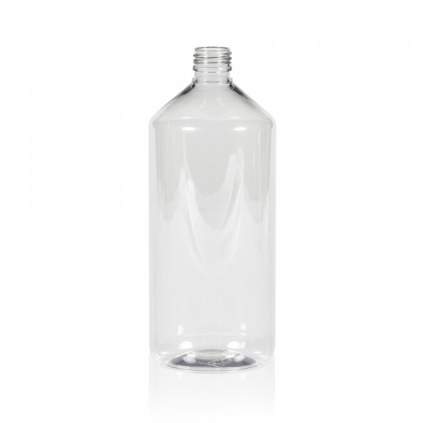 1000 ml flacon Pharma PET transparent 28.410