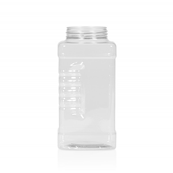 1000 ml Spice square PET transparent