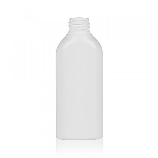 125 ml flacon Basic Oval HDPE blanc 24.410