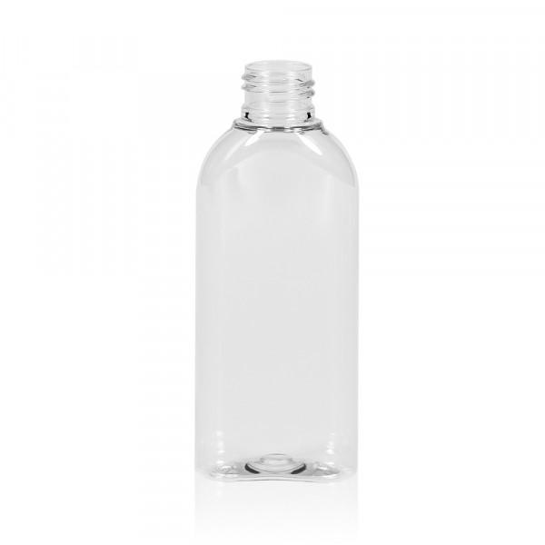 125 ml flacon Basic Oval PET transparent 24.410