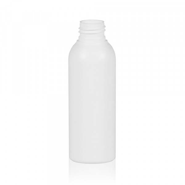 125 ml flacon Basic Round HDPE blanc 24.410