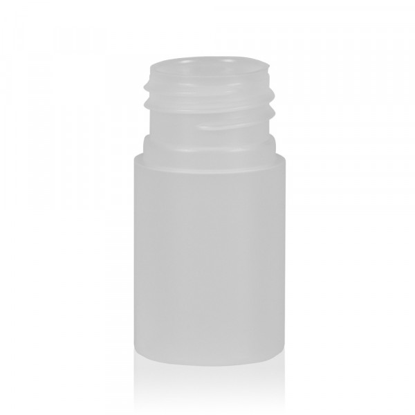 15 ml flacon Basic Round HDPE naturel 24.410