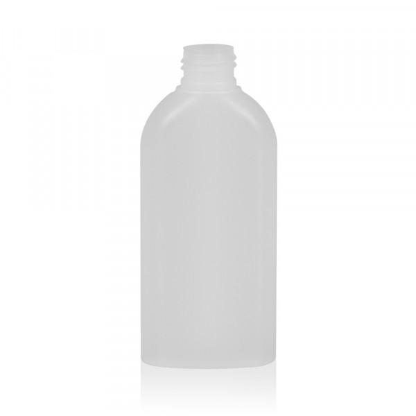 150 ml flacon Basic Oval HDPE naturel 24.410