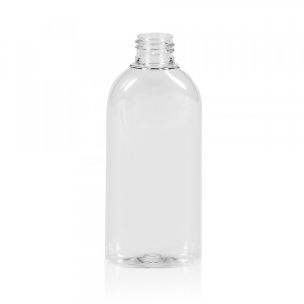 150 ml flacon Basic Oval PET transparent 24.410