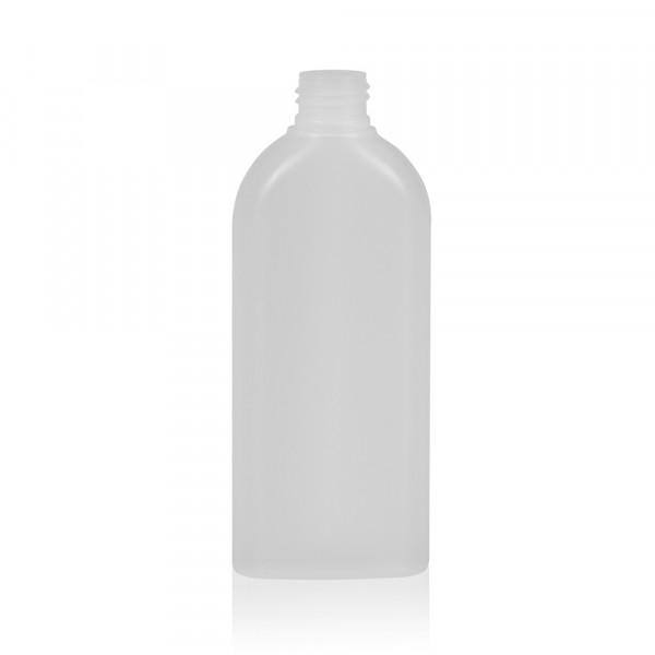 200 ml flacon Basic Oval HDPE naturel 24.410
