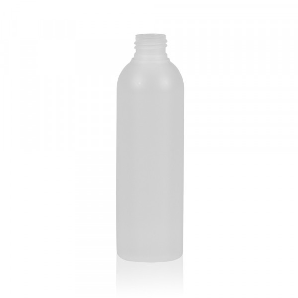 200 ml flacon Basic Round HDPE naturel 24.410