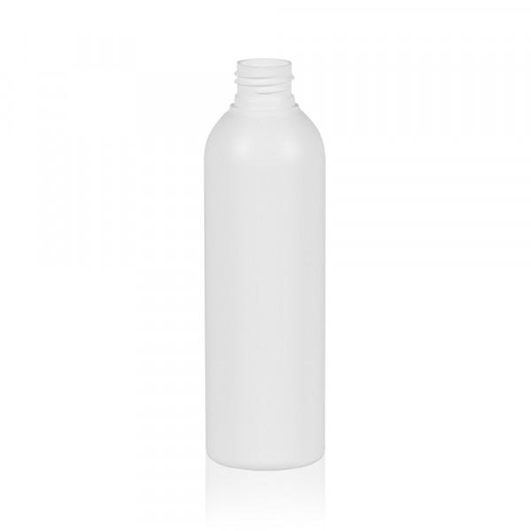 200 ml flacon Basic Round HDPE blanc 24.410