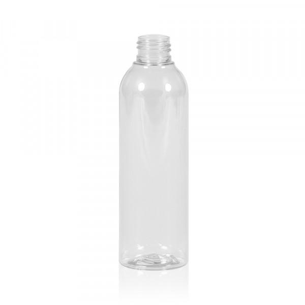 200 ml flacon Basic Round PET transparent 24.410
