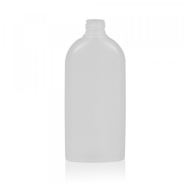 250 ml flacon Basic Oval HDPE naturel 24.410