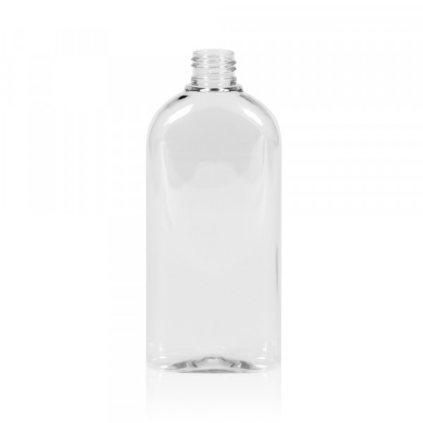 250 ml flacon Basic Oval PET transparent 24.410