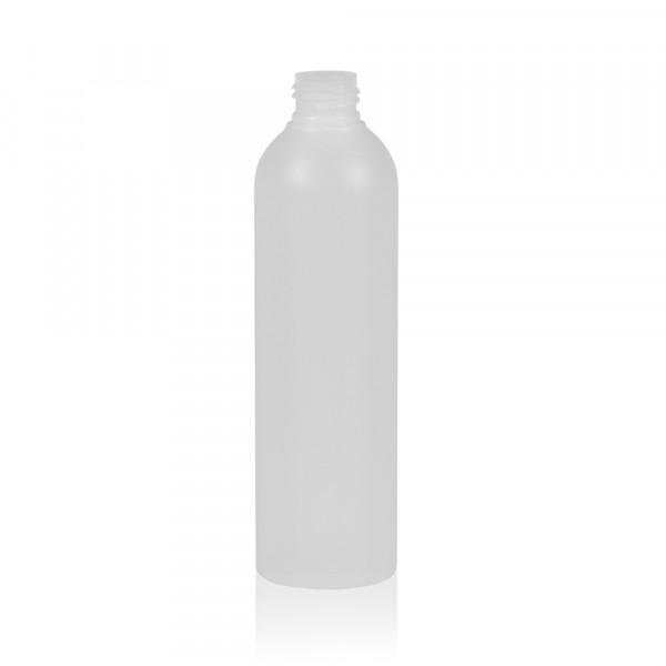 250 ml flacon Basic Round HDPE naturel 24.410