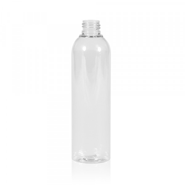 250 ml flacon Basic Round PET transparent 24.410