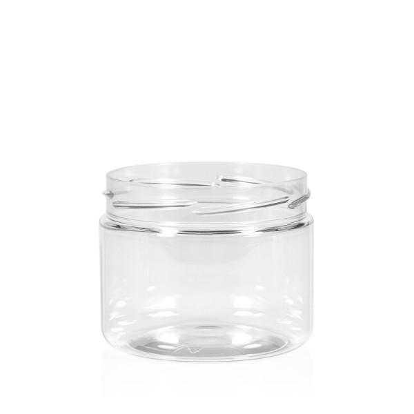 250 ml Clear cylinder PET transparent