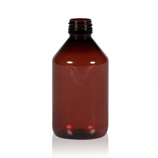 250 ml flacon Pharma PET marron 28.410