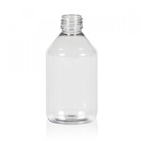 250 ml flacon Pharma PET transparent 28.410