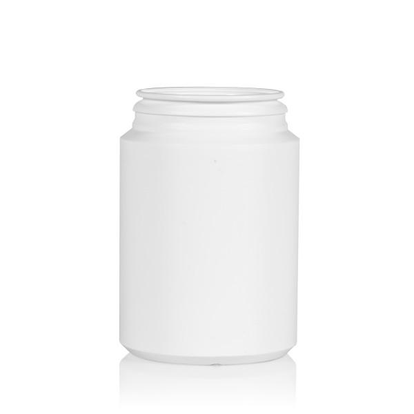250 ml Pharma cylinder HDPE blanc