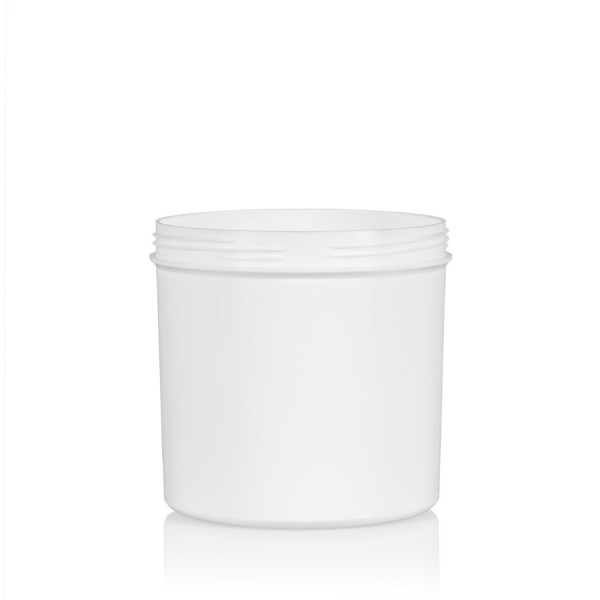 250 ml Soft cylinder PP blanc