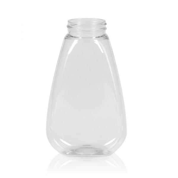 250 ml Flacon compressible Sauce oval PET transparent 38.400