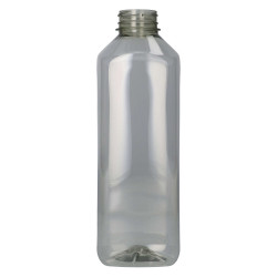 1000 ml Flacon De Jus Recyclage R-PET Transparent